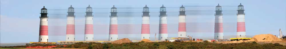 The historic move of Sankaty Head Lighthouse
