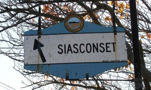 Siasconset Sign