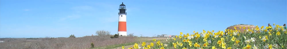 Sankaty Head Lighthouse in new location.