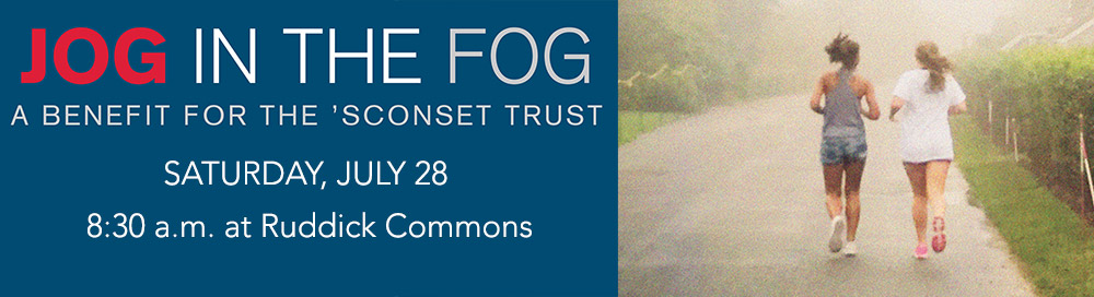 Sconset Trust Jog In the Fog