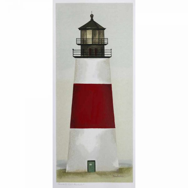 Classic view of Sankaty Head Lighthouse