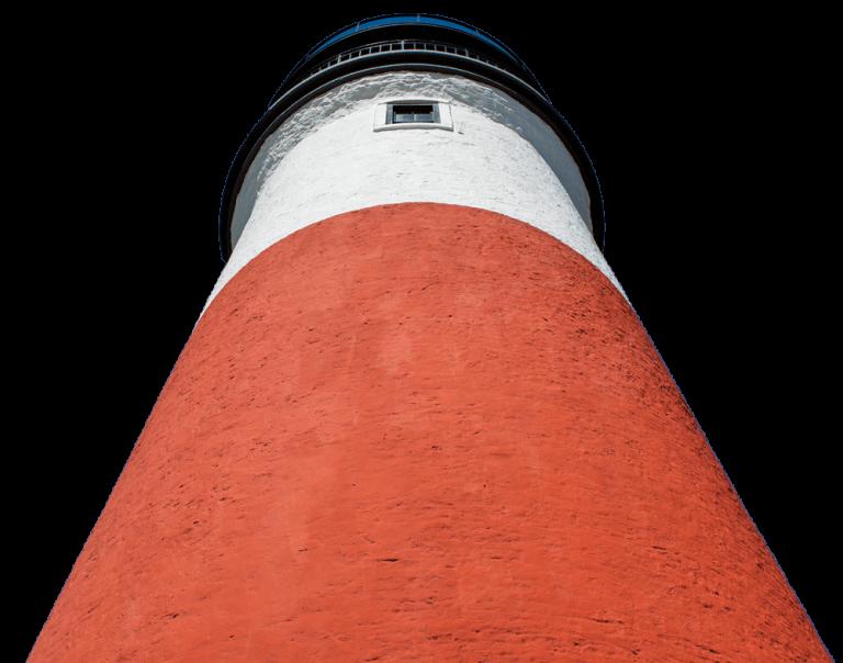 Sankaty light house from below